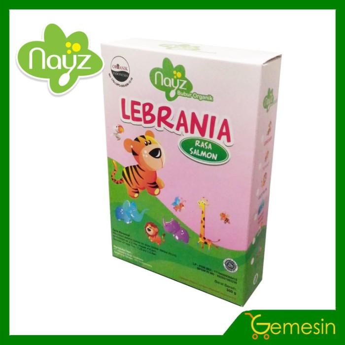 harga Nayz bubur bayi organik non instant - lebrania (salmon) Tokopedia.com