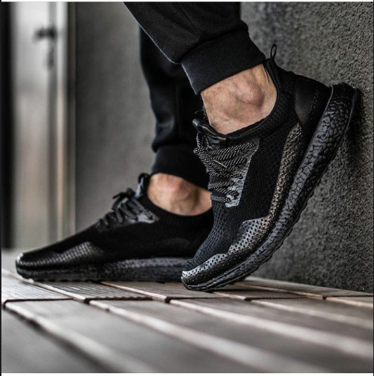 930f44637 Jual Adidas ultra boost x haven-Triple black Premium Quality ...