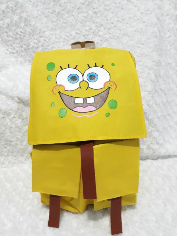 harga Tas sekolah karakter spongebob murah grosir bandung Tokopedia.com