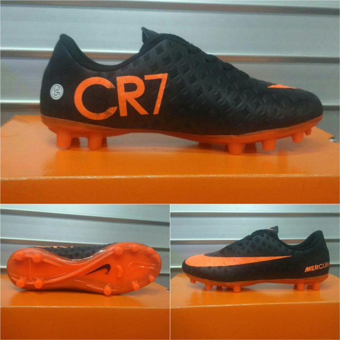 7f586ef6a836 ... purchase sepatu bola anak nike mercurial cr7 hitam list orange c1799  8409f