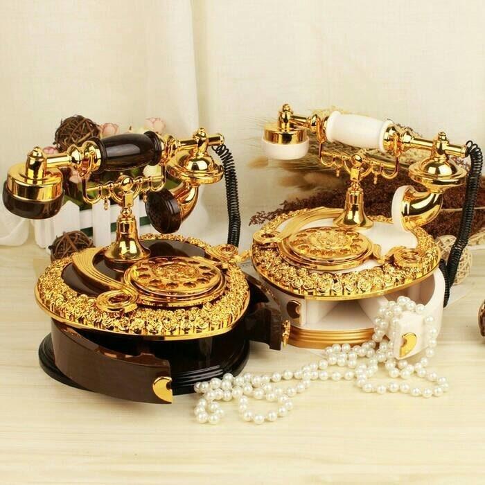harga Kotak musik telepon - 6.42 - hadiah pajangan dekorasi rumah unik lucu Tokopedia.com