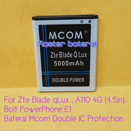... harga Baterai zte 4g a110 zte blade q lux qlux bolt powerphone e1 double ic Tokopedia
