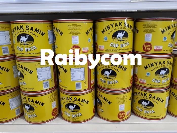 Foto Produk Minyak Samin Cap ONTA Unilever kemasan 2kg Lebih Hemat dan Murah dari Raibycom