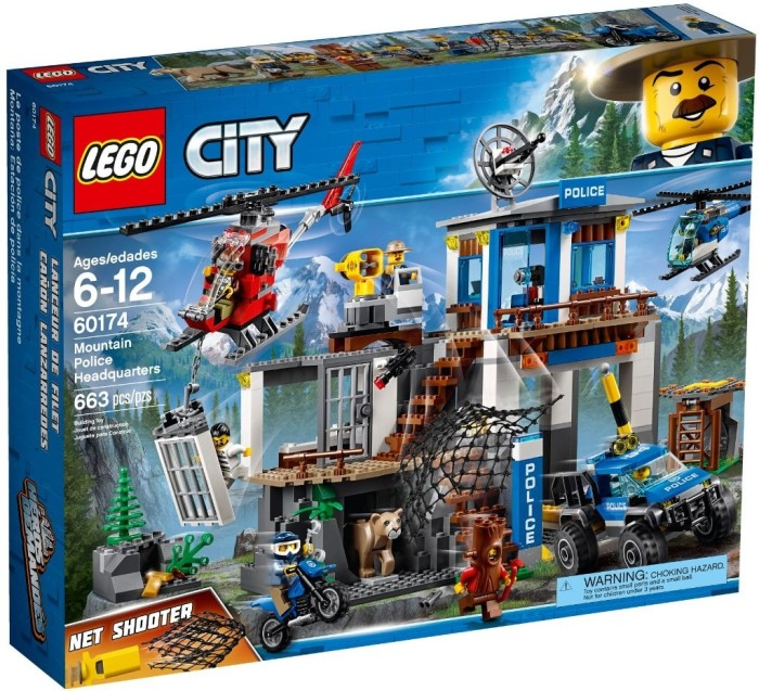 Jual Lego City 60174 Mountain Police Headquarters