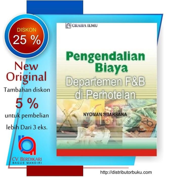 harga Pengendalian Biaya Departemen F& B Tokopedia.com