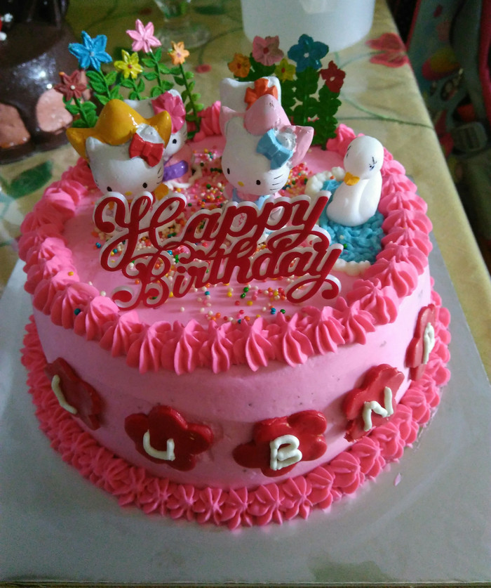 harga Cake karakter hellokitty cibubur Tokopedia.com