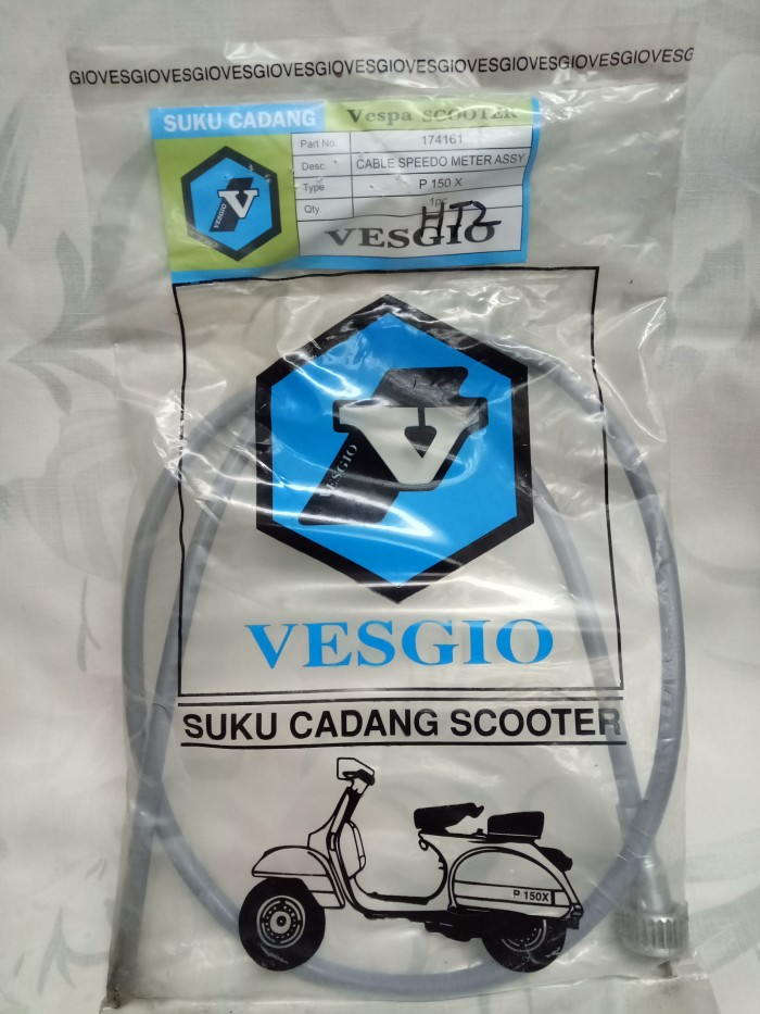 harga Kabel speedometer merk vesgio untuk vespa px Tokopedia.com
