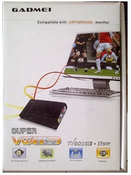 harga Tv tuner gadmei combo 3810 e built - in fm radio Tokopedia.com