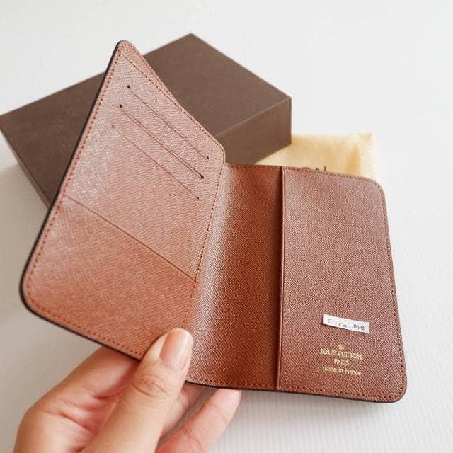2f033b582269 Jual Louis vuitton LV monogram passport holder dompet paspor branded - DKI  Jakarta - circame | Tokopedia