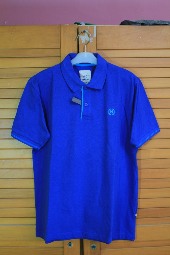 harga Polo Shirt Kaos Polo Nevada Tokopedia.com