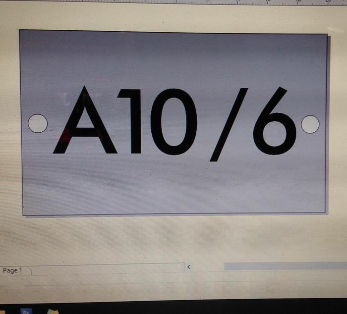 harga Nomor rumah akrilik pesanan bp rico Tokopedia.com