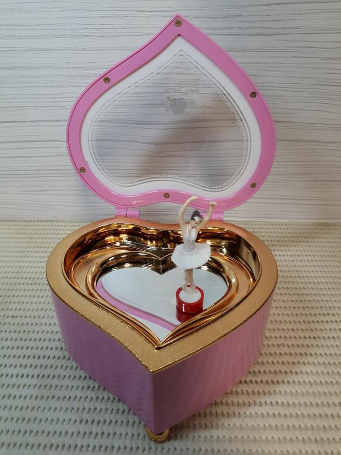Kotak Musik Love Ballerina / Musik Box Ballerina