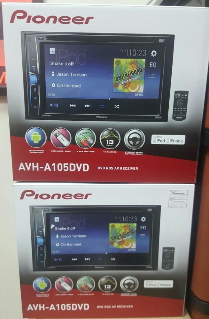 harga Pioneer avh-105 / avh-a105 / avh-a105dvd / avh-105dvd Tokopedia.com