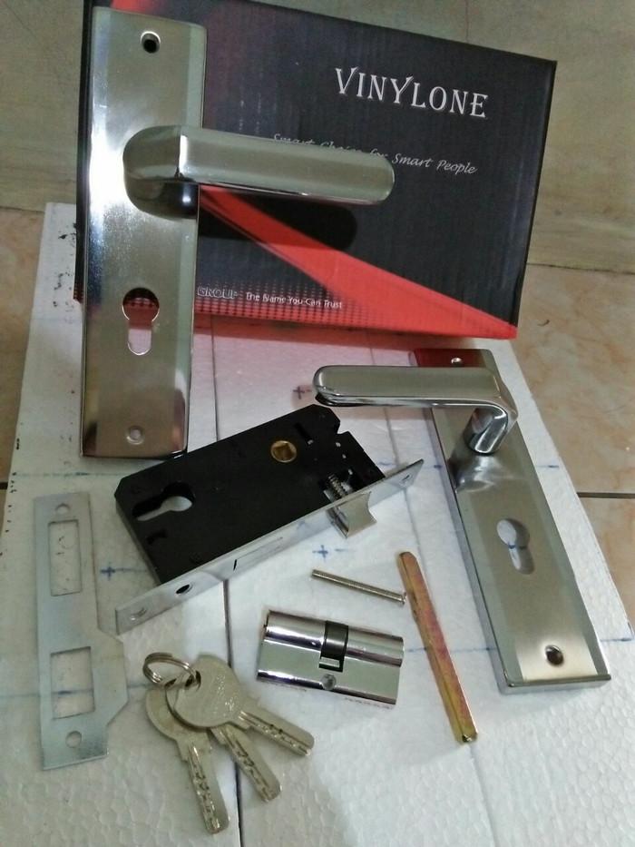 harga Kunci pintu tanggung vinylone perry np | handle pintu | bellucci Tokopedia.com