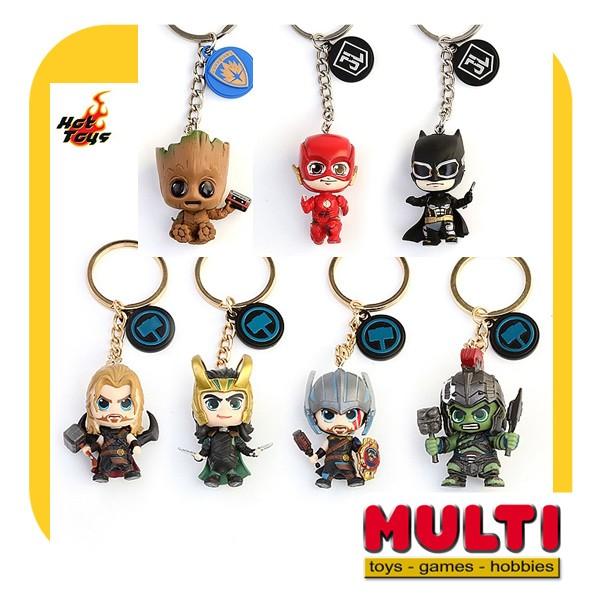 harga Hot toys keychain groot, justice league, thor (assorted) Tokopedia.com