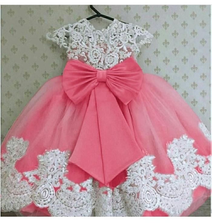 harga Dress anak murah/ baju pesta anak / gaun pesta anak  agatha salem Tokopedia.com