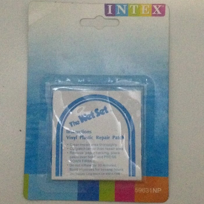 Foto Produk Intex Repair Patch Lem Stiker Penambal Pelampung Kolam Renang Karet dari Kimsha Store