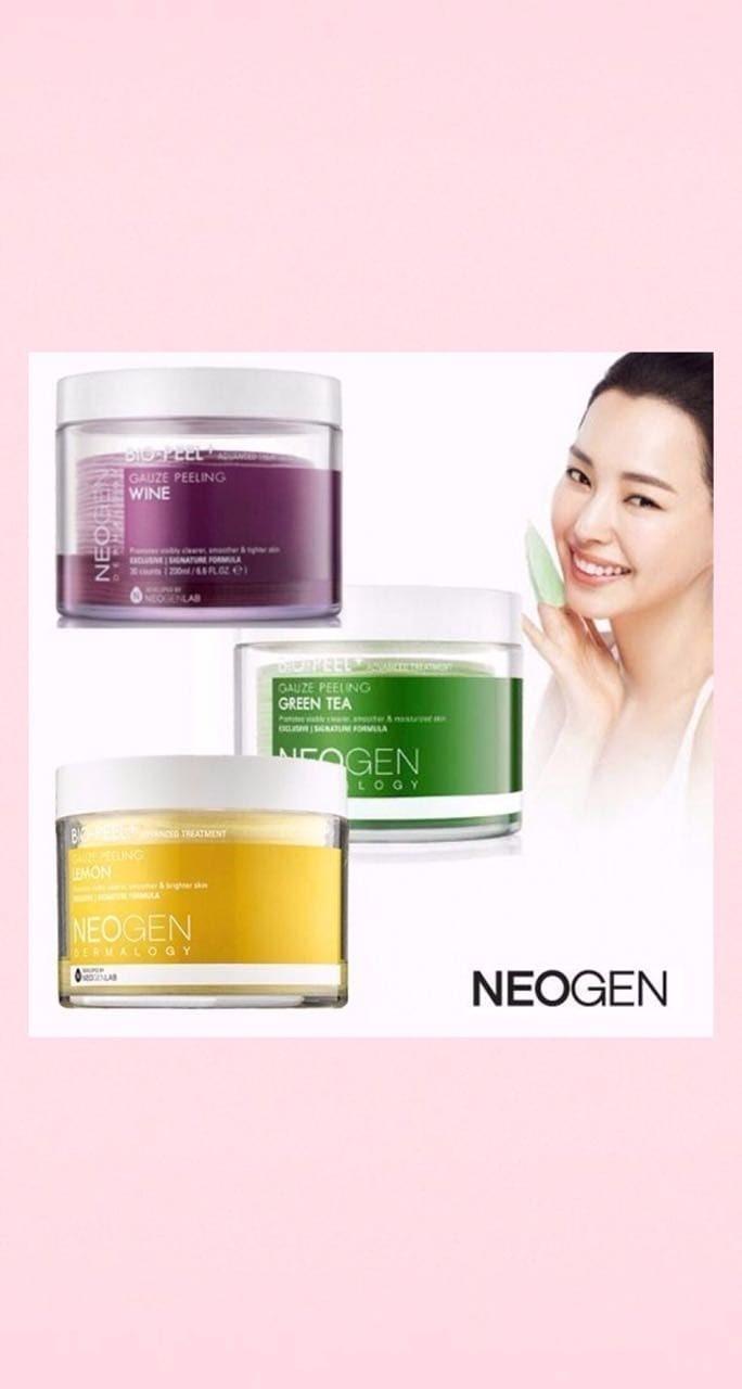 Foto Produk NEOGEN GAUZE PEELING GREEN TEA dari JQK Cosmetics