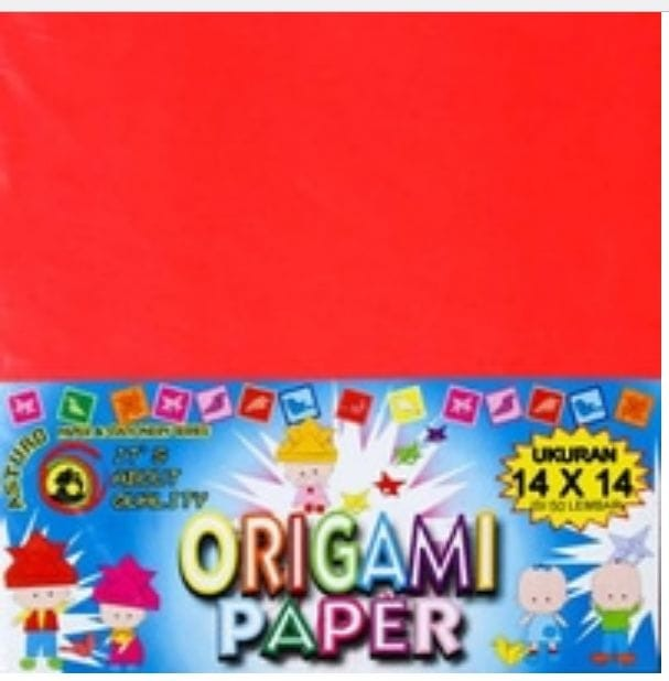 harga Kertas asturo origami ukuran 14 x 14 Tokopedia.com