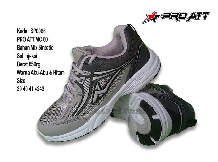 Sepatu Pro ATT MC 50 Abu Sepatu Olahraga Pria Sepatu Santai - Abu-abu Muda 5d9e3e0eb8