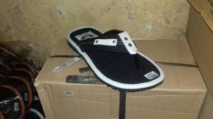 Sandal casual selop pria flat jepit slip on slop sepatu sendal santai