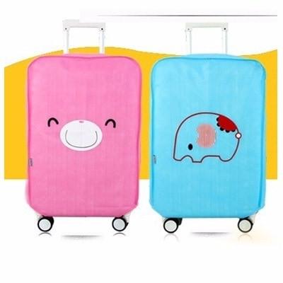 Luggage Cover KARTUN LUCU SERIES Sarung Penutup Pelindung Koper Trav