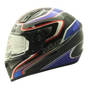 Helm cargloss kbc vk euro helm full face - blue red deep black
