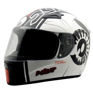 Helm kbc vr eye ball  white black