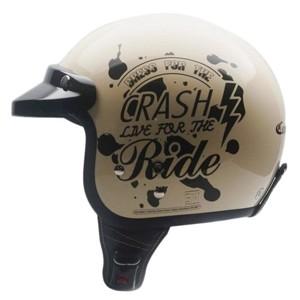 Helm cargloss cf retro crash ride