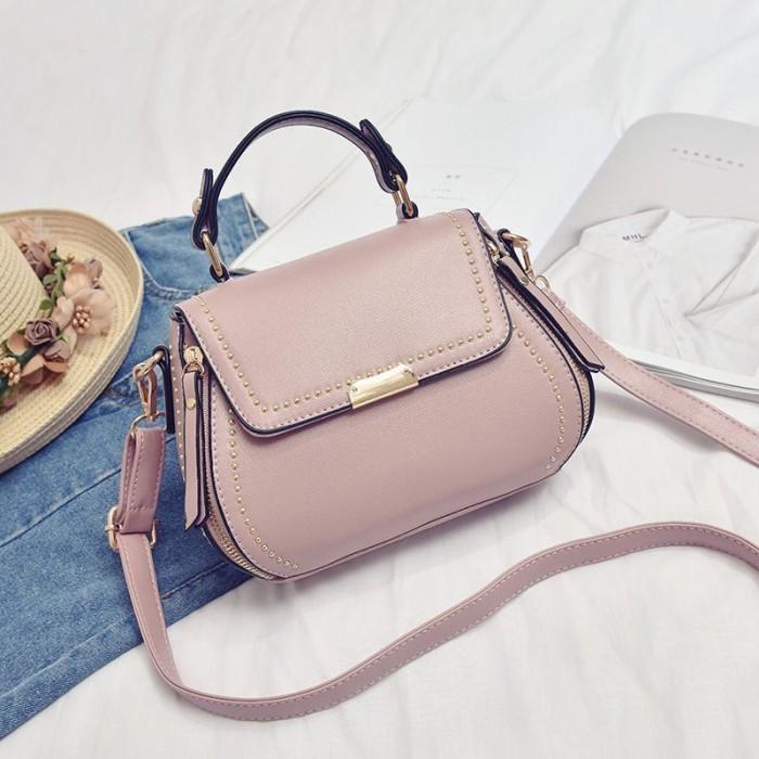 Jual Tas Kantor Wanita Import Elegan Model Baru - TB89029 Pink ... a2f187d1c8