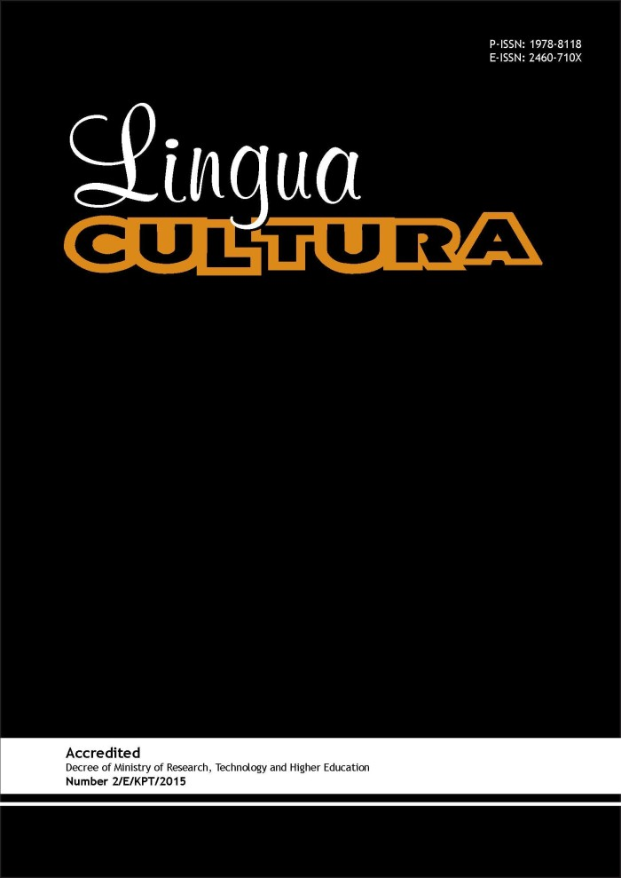 Journal Lingua Cultura Vol. 11 No. 2 (2017)