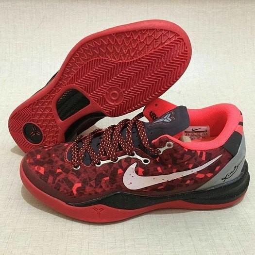 Jual Sepatu Basket Nike Kobe 8 Red Snake Kota Surabaya Pivot