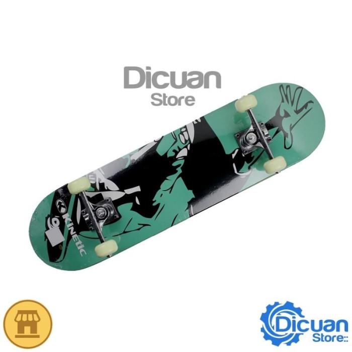 harga Kinetic Papan Skateboard Canadian Maple Street2 Green 78.7 X 20 Cm Tokopedia.com