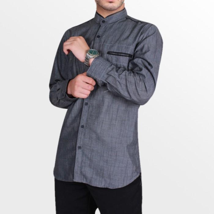 Jual Jasko / Baju Muslim Pria / Kemeja Koko Lengan Panjang OML27 ...