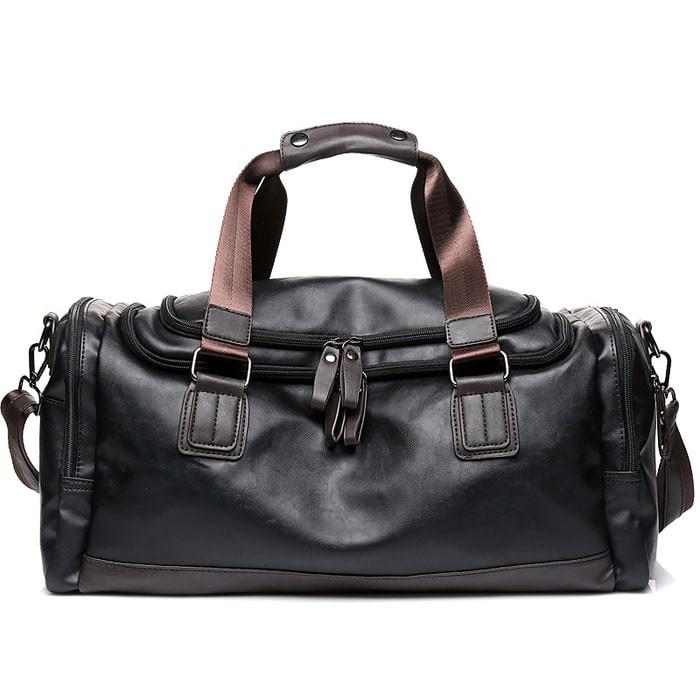 Jual Tas Travel Bag Kerja Kantor Gym Selempang Jinjing Kulit Leather ... 2c19c652d0