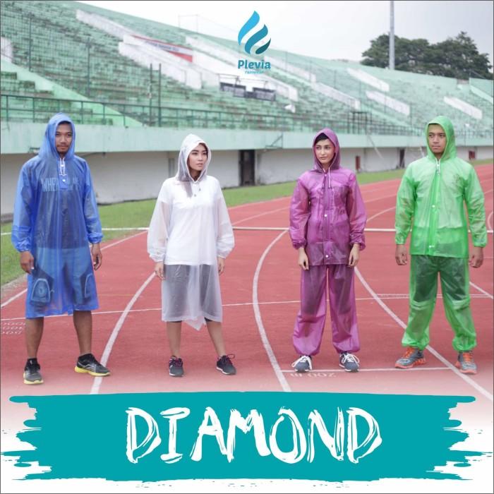 Jual Plevia – Jas Hujan Jaket Celana Diamond Harga Promo Terbaru