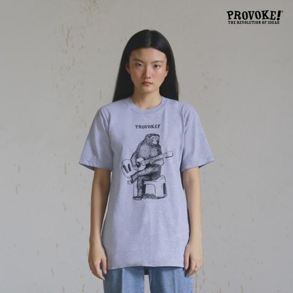 Tshirt - provoke! folky monkey - abu misty (kci-ts.fomo.19) - abu misty l