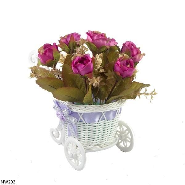 harga Buket Bunga Mawar Vas Sorongan Shabby Mw293 Tokopedia.com