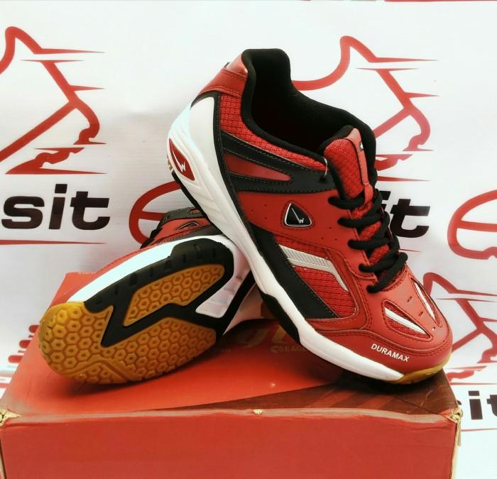Jual Sepatu Badminton Bulutangkis EAGLE METRO Red black Original ... 65a874c4fa