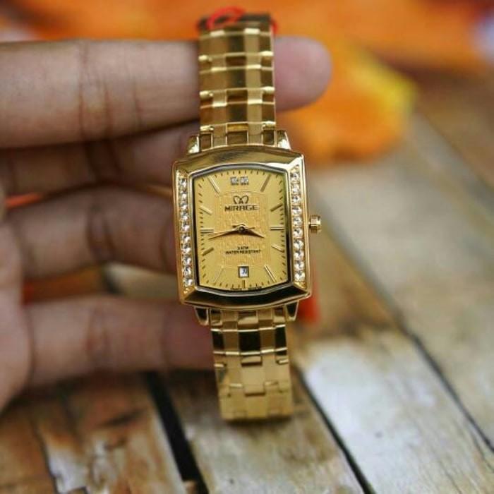Jual JAM TANGAN Jam tangan mirage original For Ladies GD1554 - Full ... d9240c11e4