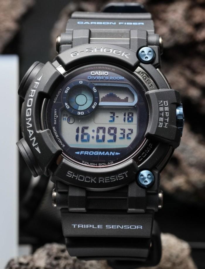 Jual Jam Tangan Casio G-Shock Frogman GWF-D1000B-1DR Diving Original ... e1e2b04690