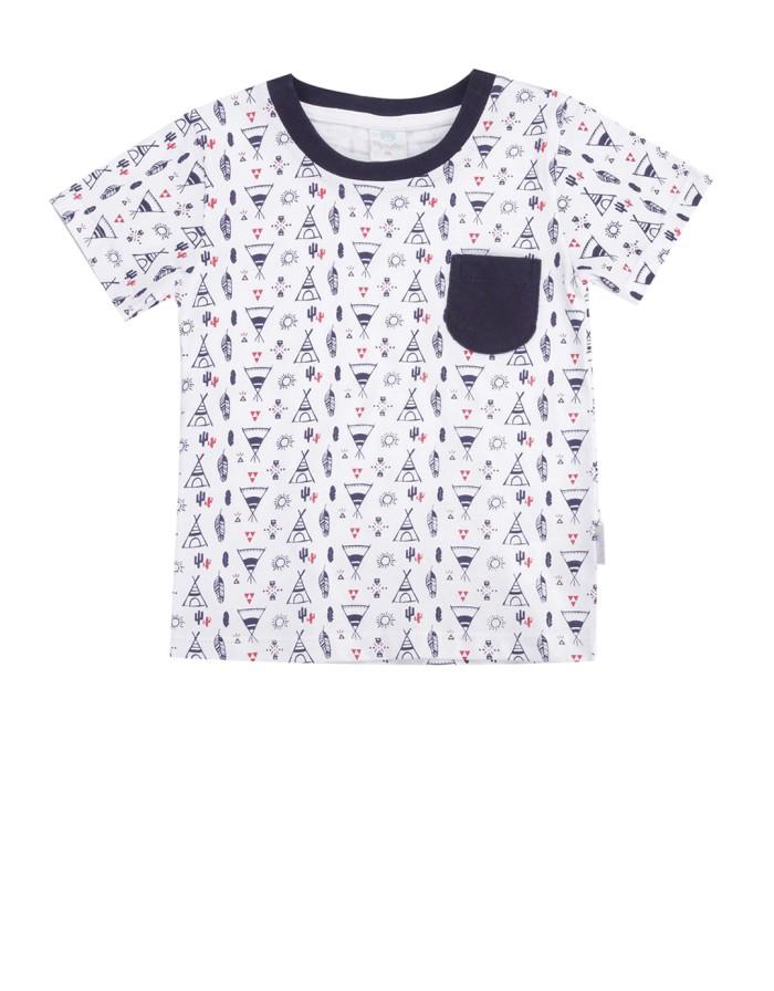 harga Pipiniko fullprint tenda t-shirt anak - putih Tokopedia.com