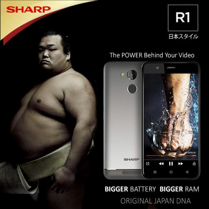 harga [new] Handphone Smartphone Sharp R1 (free Screen Guard + Phone Case) Tokopedia.com