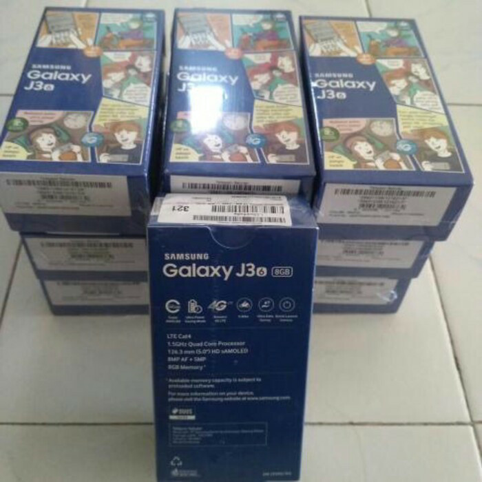 SAMSUNG GALAXY J3 2016 Garansi Resmi Samsung