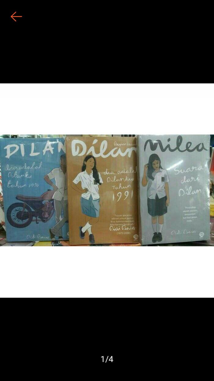 Jual Dilan Sepaket By Pidi Baiq Jakarta Barat Media Books