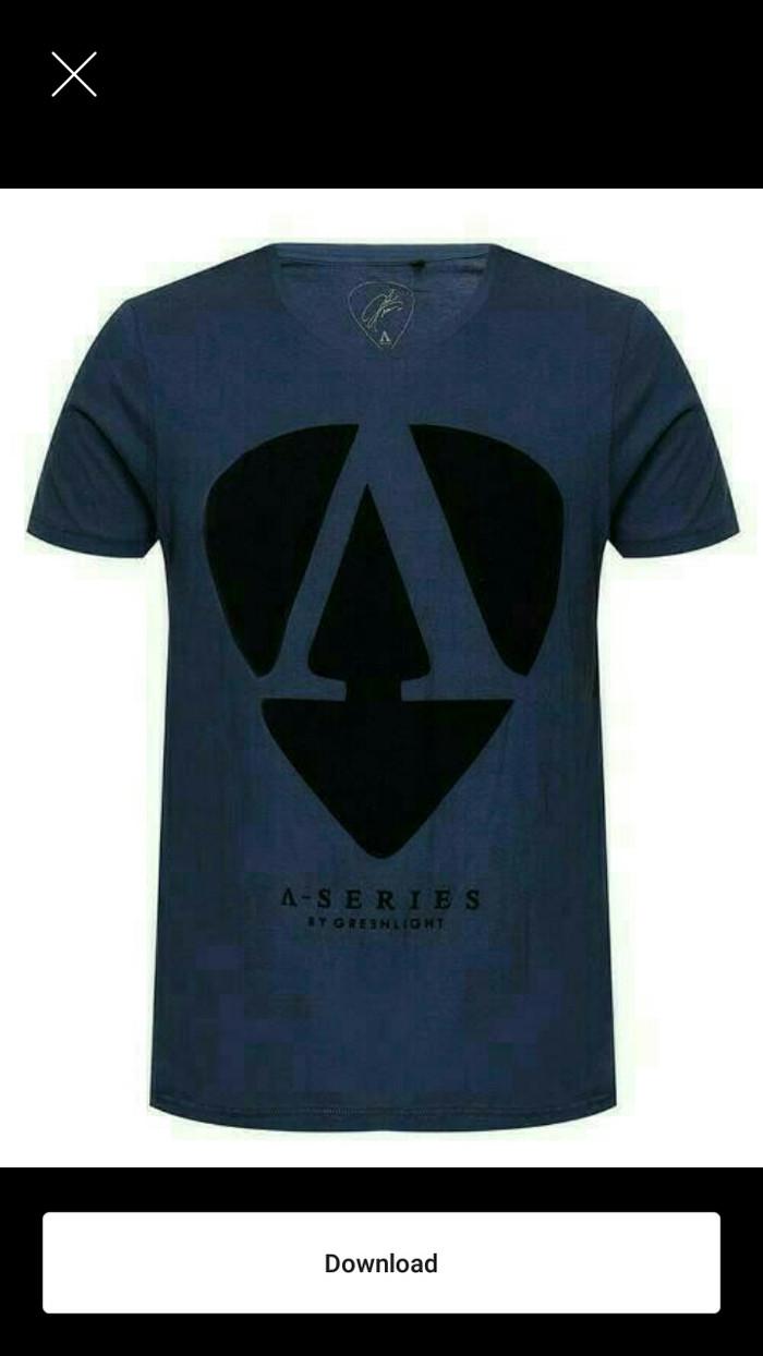 t-shirt/kaos distro/baju GREENLIGHT A series