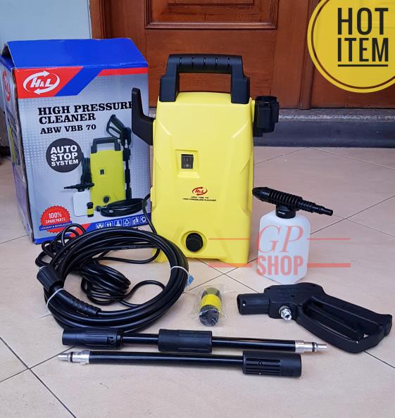 harga Alat steam cuci motor mobil high presure jet cleaner vbb 70 h&l Tokopedia.com