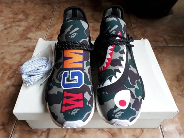 0e539db1f Jual Adidas NMD Pharrel William x Bape WGM Camo - Adidas Human Race ...