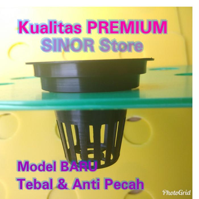 Foto Produk GROSIR Net Pot 1000 Pcs Multi Diameter 4.5cm sd 6cm NFT Hidroponik dari SINOR Store