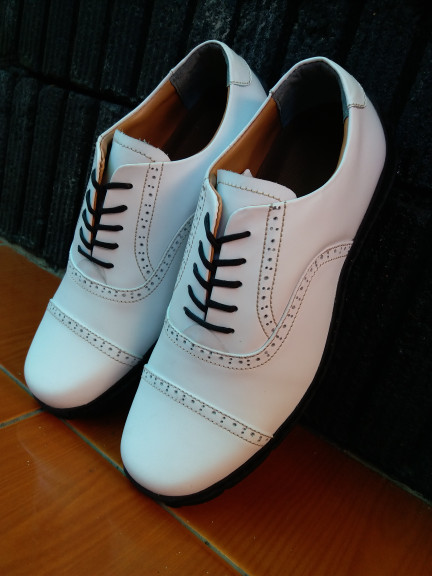 harga Sepatu Pria Kulit Asli Sepatu Golf Golfer Golfshoes Tokopedia.com